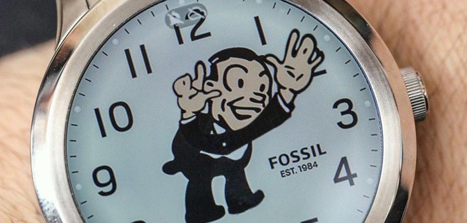 Fossil продает smart watch корпорации Google