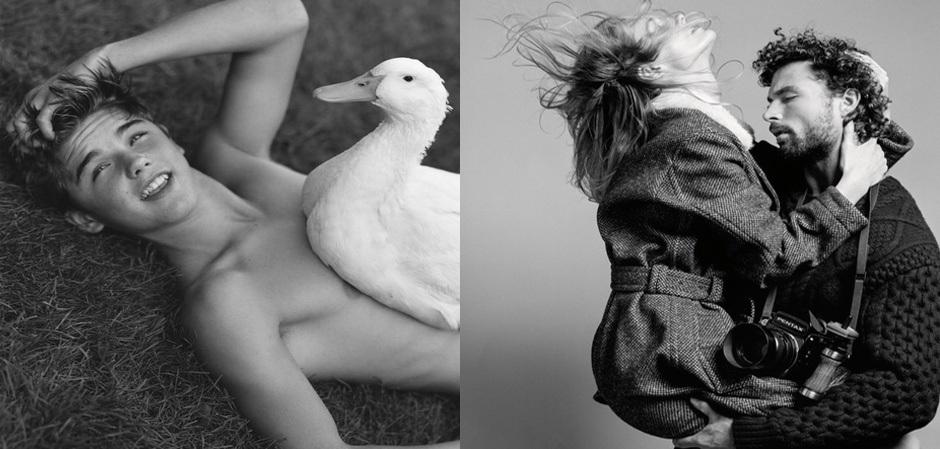 Фотографии Вебера для Домов моды и глянцевых журналов стали классикой в истории моды