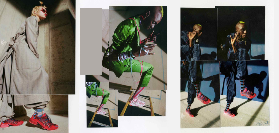японский Asics+Vivienne Westwood