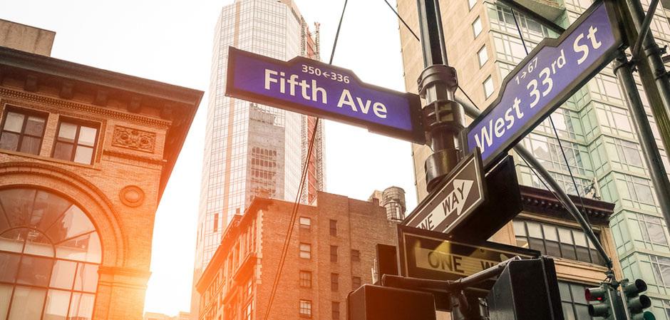 Главные улицы мира. Пятая авеню