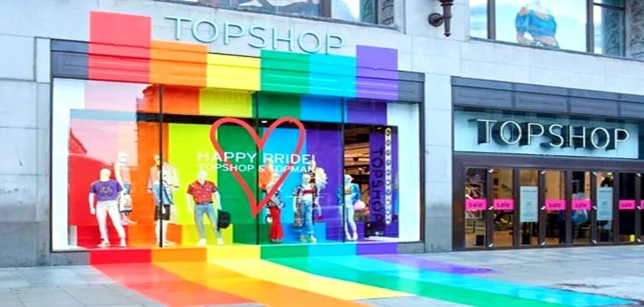 Topshop закрывает все 11 магазинов в США, включая Topman