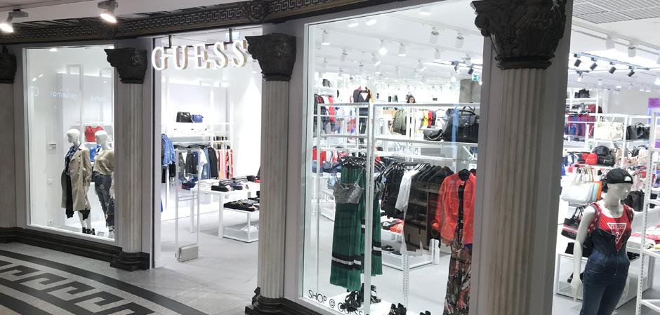 Новый бутик Guess в Москве