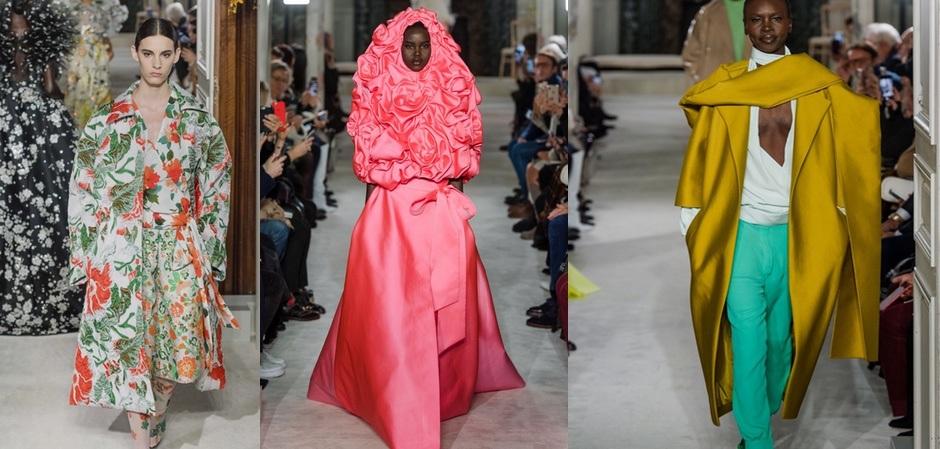 Коллекция Valentino haute couture весна 2019
