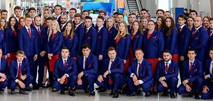 SHISHKIN отвечает за имидж российской сборной на Worldskills-2019
