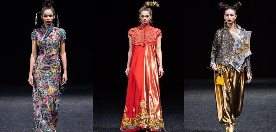 Коллекция Guo Pei haute couture весна 2019