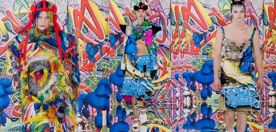 Коллекция Модного дома Margiela haute couture весна 2019