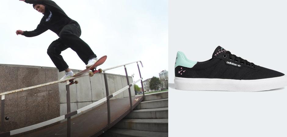adidas проводит фестиваль ALL OF US, посвященный всем фанатам скейтбординга и новой линии кед 3MC
