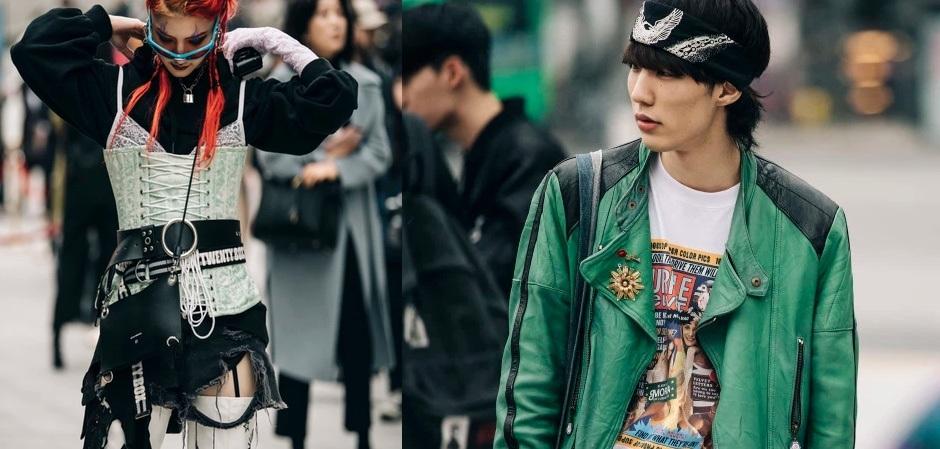 streetsyle на Неделе моды в Сеуле
