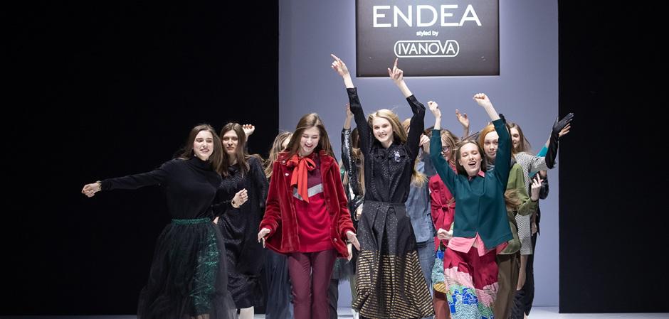 Показ ENDEA на Неделе моды в Москве: итоги