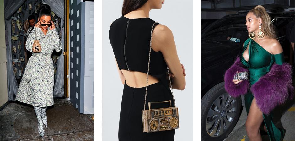 клатчи и сумочки бренда Judith Leiber