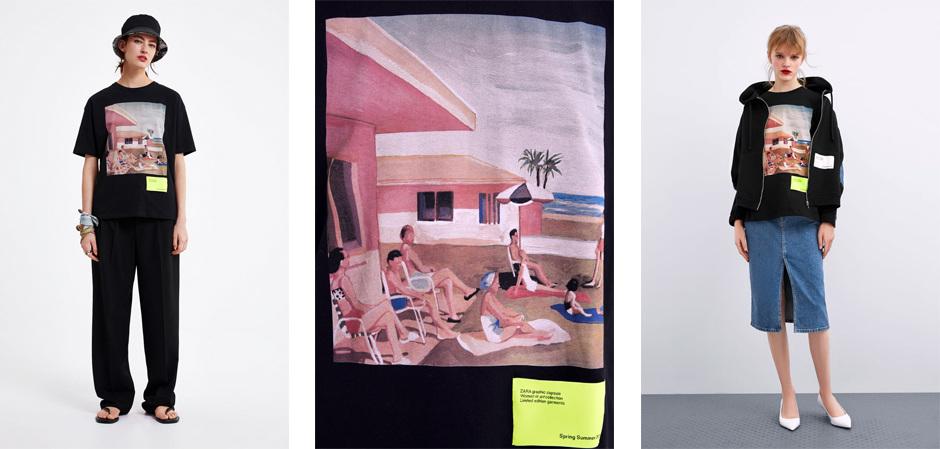Бренд Zara выпустил лимитированную коллекцию Women in Art