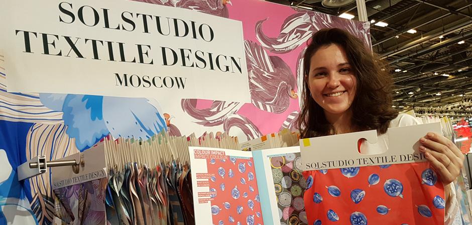 Solstudio Textile Group на Premiere Vision в Париже