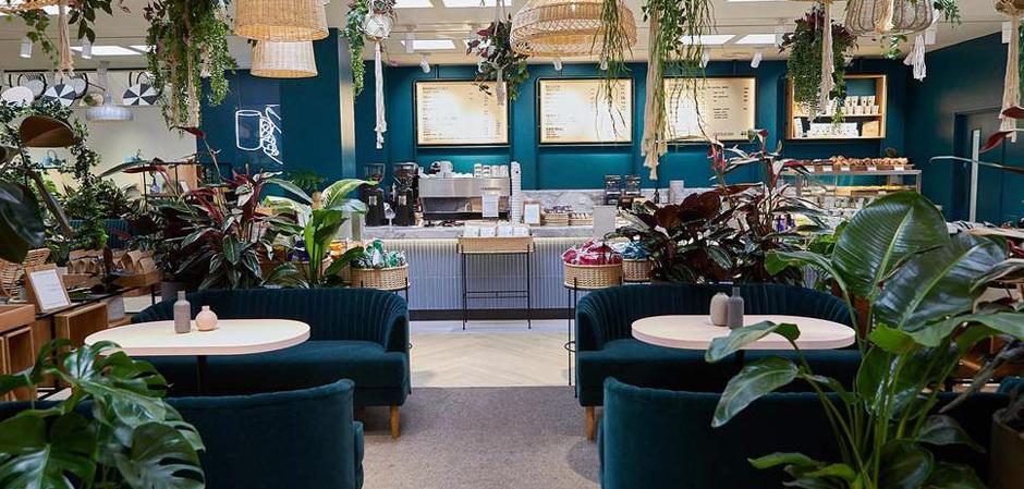 Кафе H&M в Westfield London