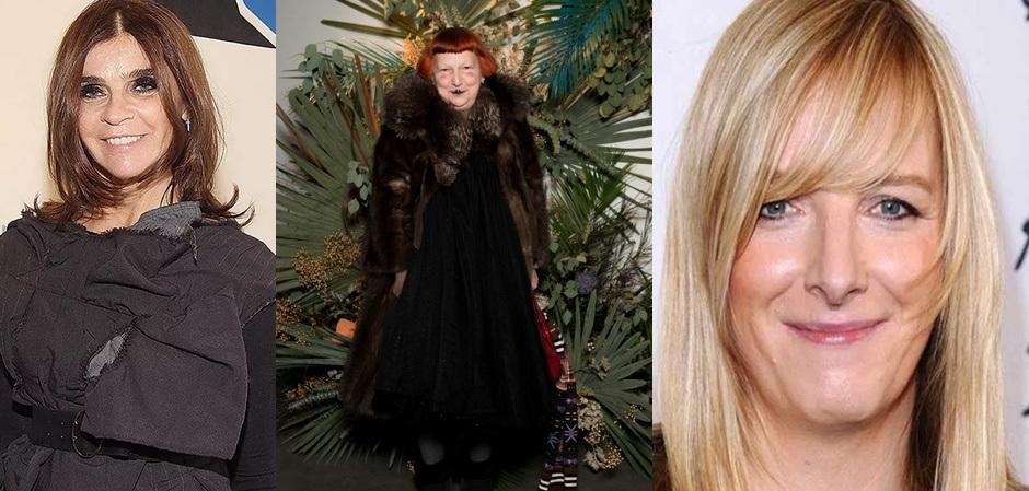 Лауреаты премии  CDFA 2019: Карин Ройтфельд, Линн Ягер и Сара Бертон.