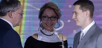 Дмитрий Шишкин получил премию «Золотое веретено»