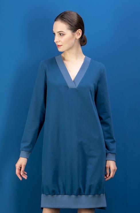 48eefcf0ad4 Платье-туника трикотаж ENDEA   Модный Магазин
