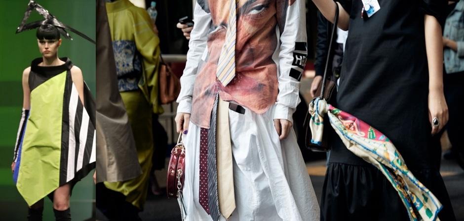 Показы дизайнеров блекли на фоне смелых образов гостей AMAZON FASHION WEEK TOKYO