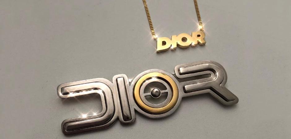 футуристические украшения Dior