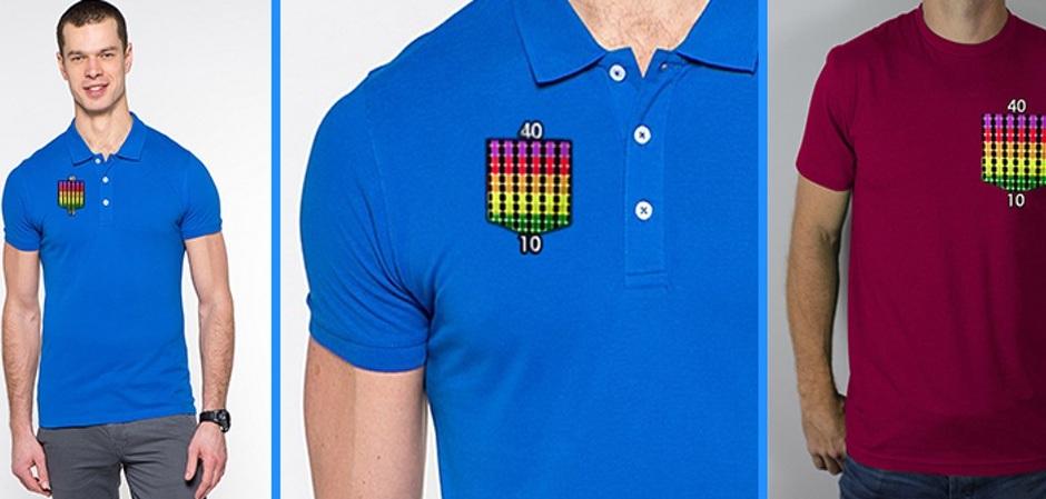 Рубашка поло с датчиком температуры тела от Ялос