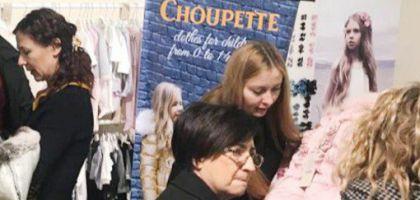 Choupette на международной выставке Pitti Immagine Bimbo