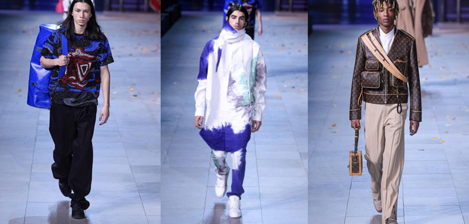 коллекция Дома Louis Vuitton дизайнера Вирджила Абло
