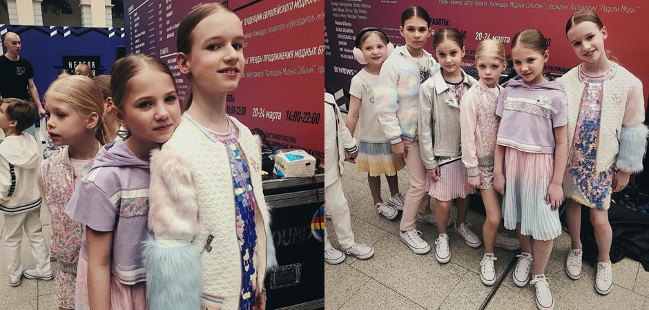 ТМ Choupette на Неделе моды в Москве