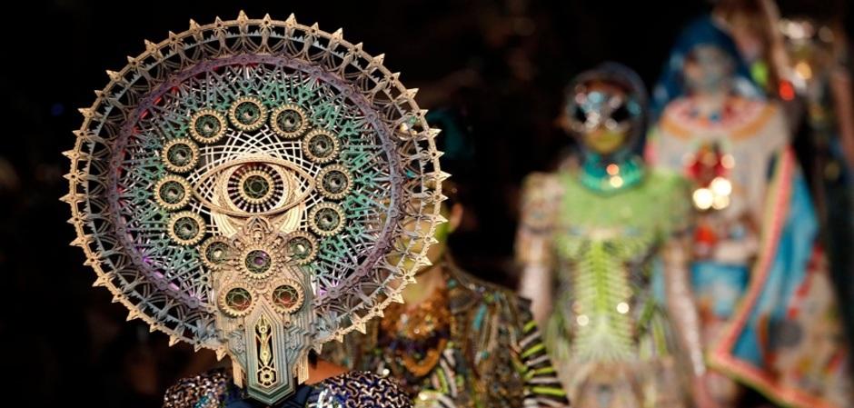 Rick Owens и Manish Arora на Paris Fashion week