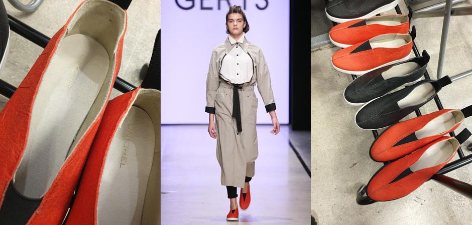 Ксения Герц и «Юничел» разработали новую обувь