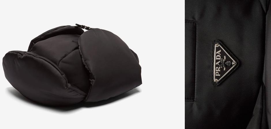 Ушанка от Prada за 567 долларов США