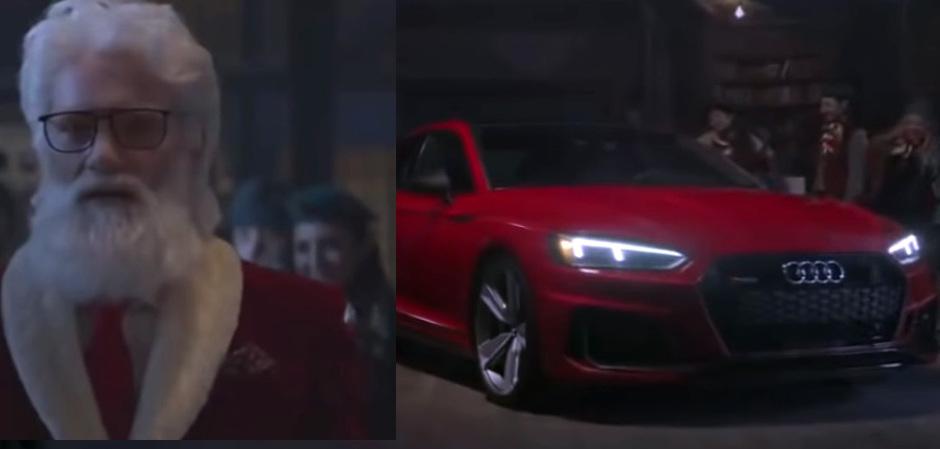 Новогодний ролик от Audi