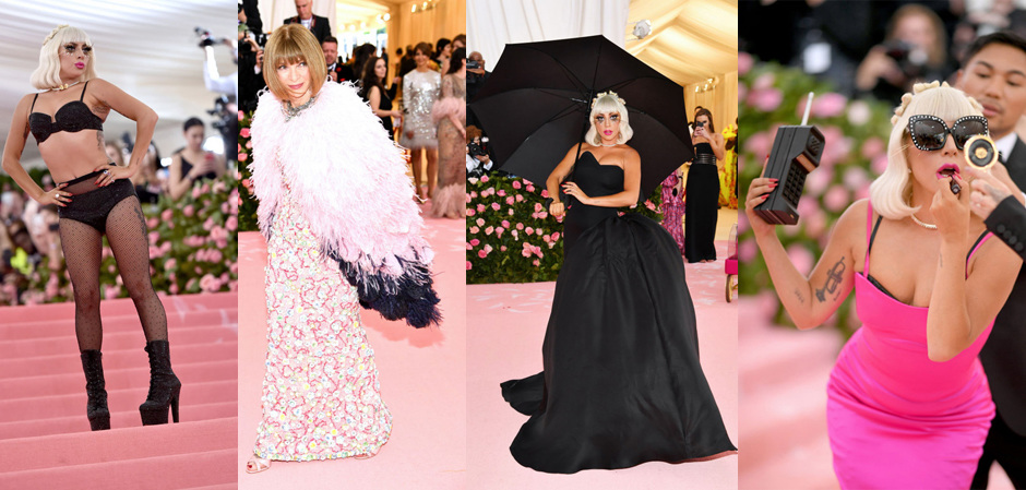 Леди Гага и Анна Винтур в Chanel
