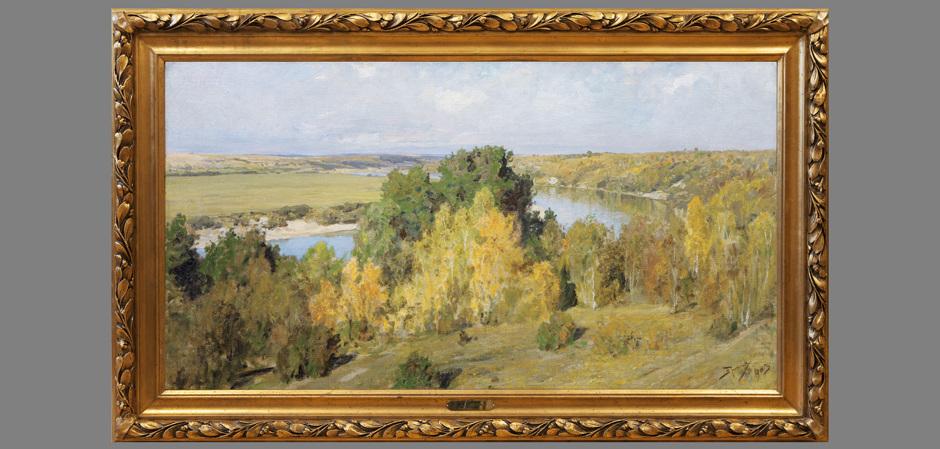 Живопись В.Д. Поленова
