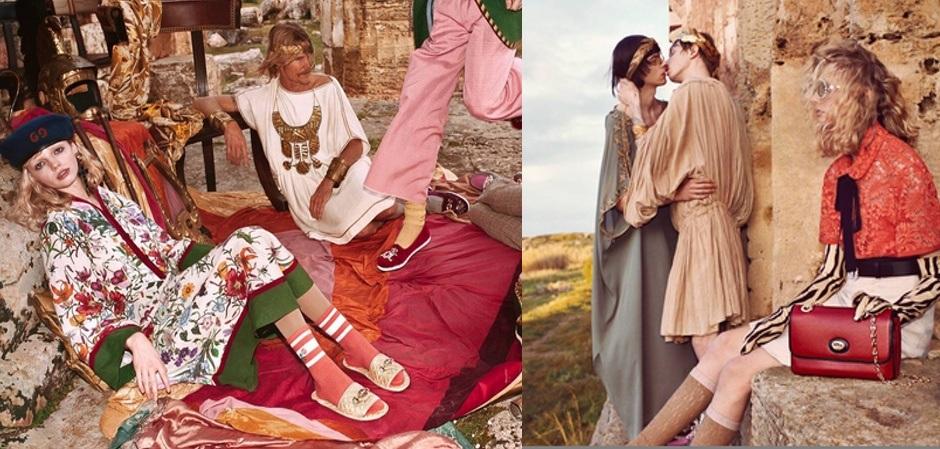 Новая коллекция Алессандро Микеле Дом  Gucci