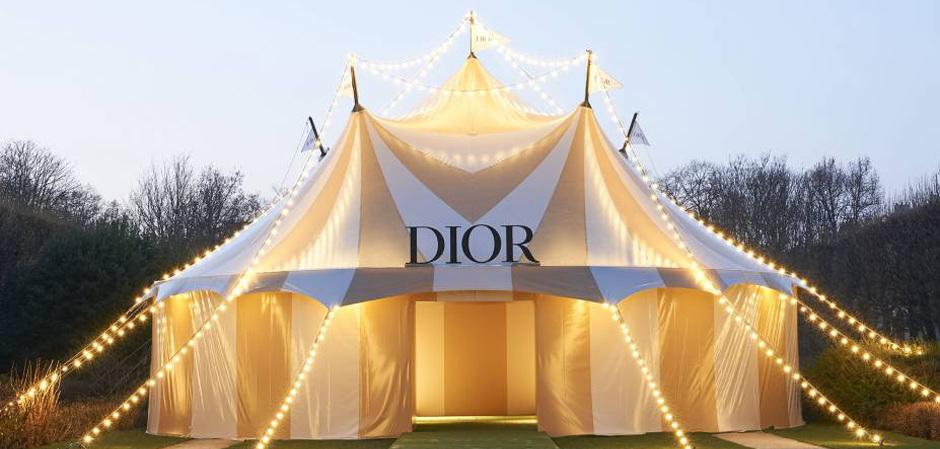 Dior на Неделе высокой моды в Париже – коллекция «весна-лето 2019» в цирковом антураже