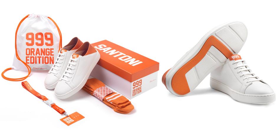 Santoni 999 Orange Edition