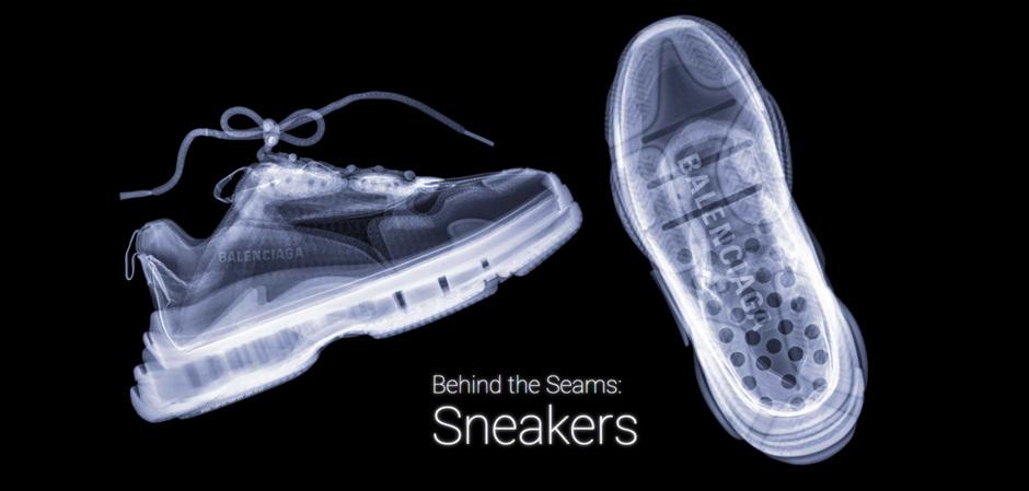 Lyst и Хью Терви: кроссовки на просвет
