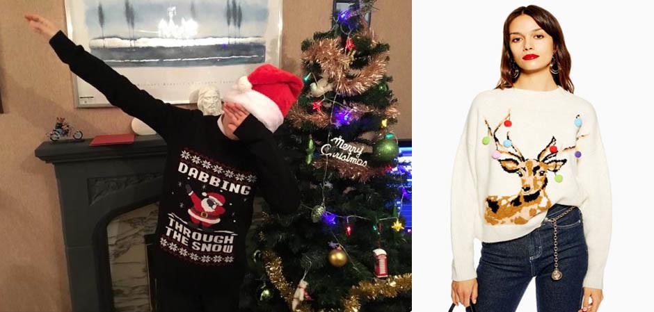 Dubbing Santa на свитере