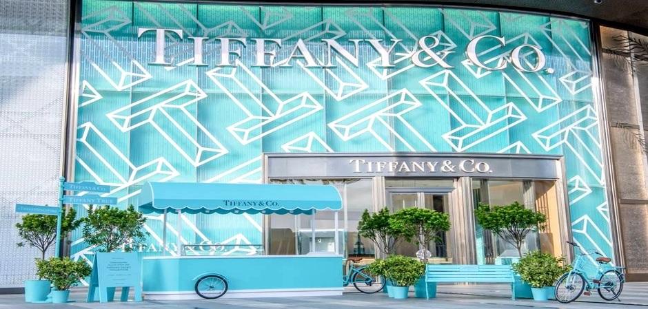 праздник от  Tiffany будет в голубом
