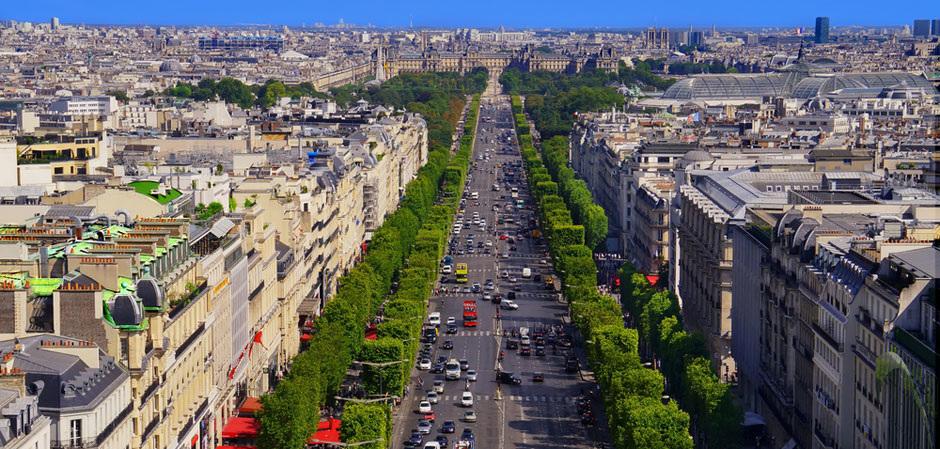 Главные улицы мира. Елисейские поля