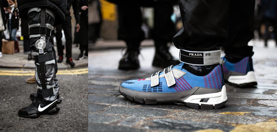 Лондонская Неделя мужской  моды: модные детали