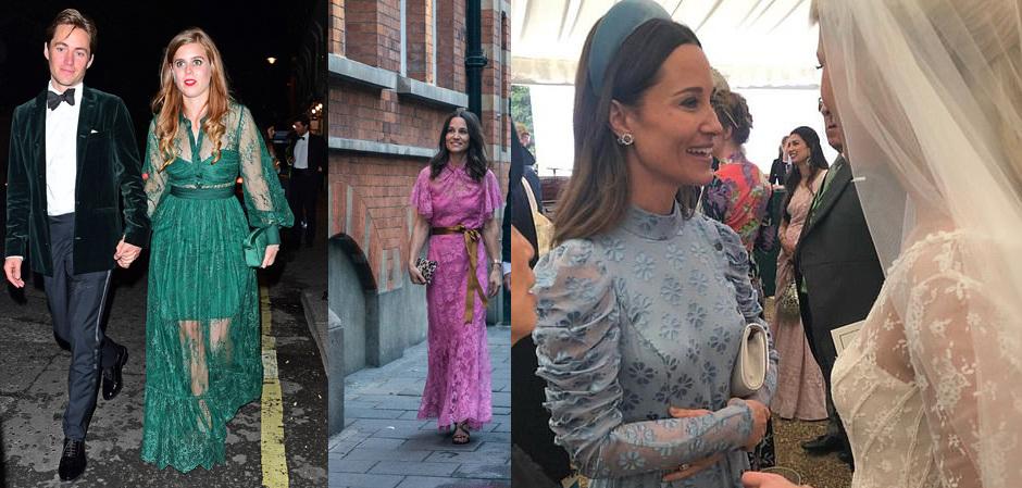 Количество платьев из гипюра вызывает настороженность на свадьбе члена королевского дома