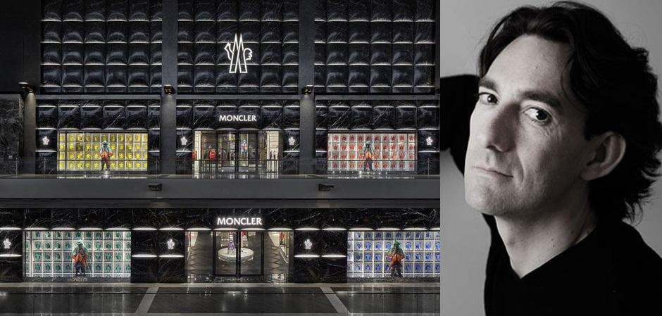 Флагманский бутик бренда Moncler в Сингапуре. Дизайнер – Гвенаэль Николя