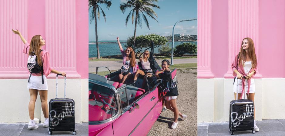 American Tourister x Barbie