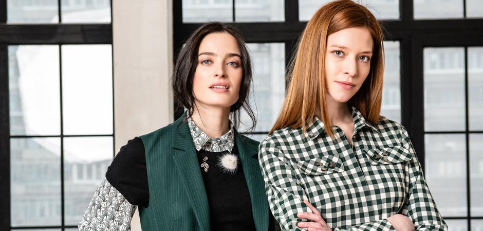 Девушки в одежде ENDEA крупным планом