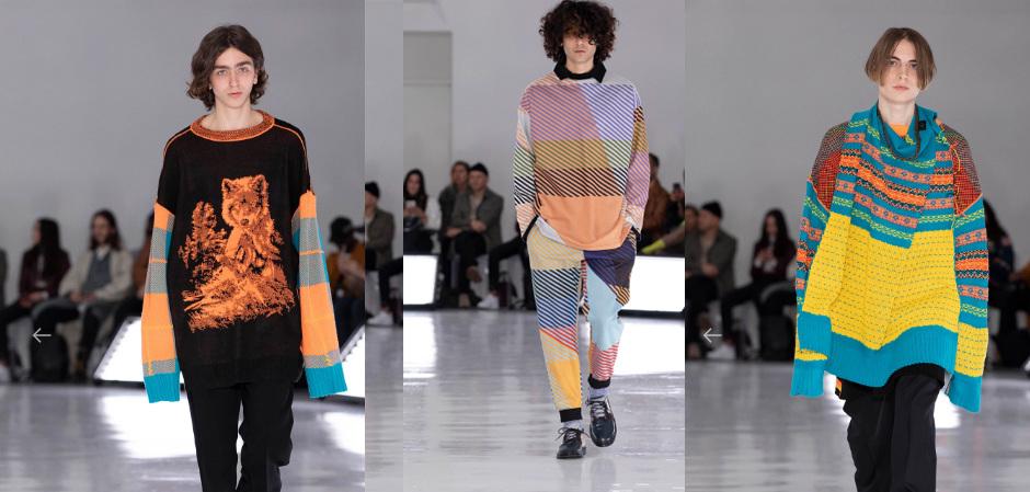 Коллекция трикотажа и мужской одежды бренда N.HOOLYWOOD на Нью-Йоркской Неделе Моды