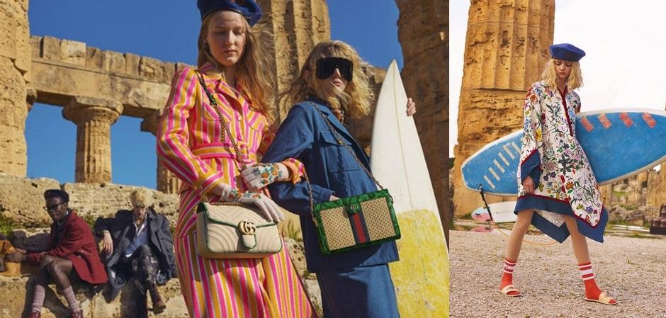Новая коллекция  Gucci Pre -Fall 2019