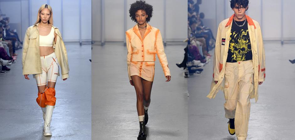 Heron Preston на Парижской Неделе мужской моды
