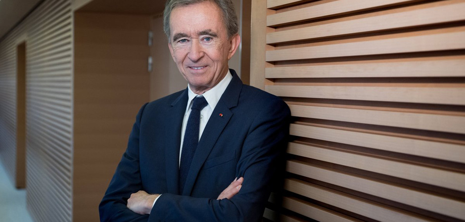 Бернар Арно, председатель и исполнительный директор LVMH