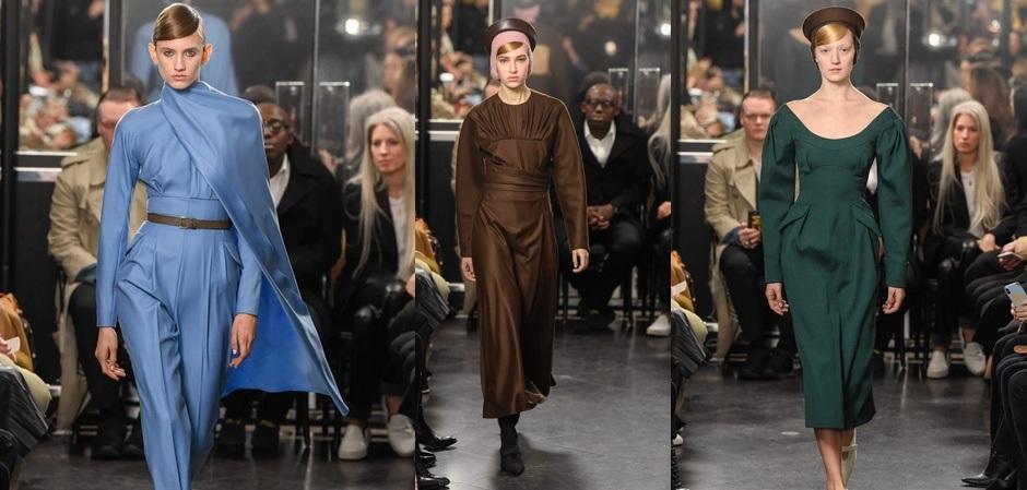 Коллекция Эмилии Уикстед на Неделе моды в Лондоне