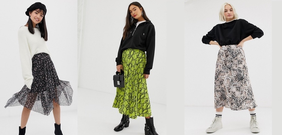 Самая модная юбка бренда New Look